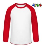 Supersoft Baseballshirt für Kinder bedrucken