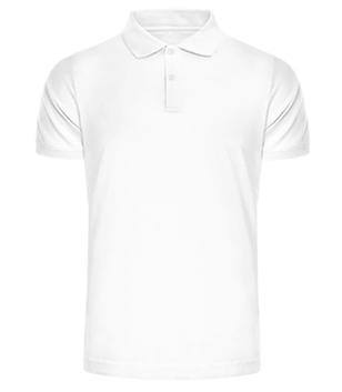 Jersey Poloshirt Männer