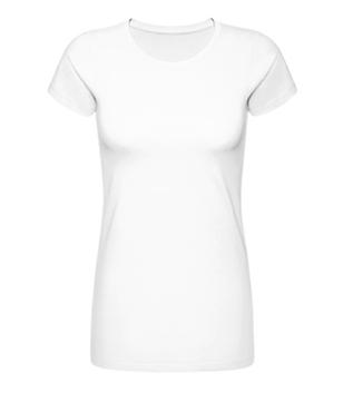 Langes leichtes Frauen T-Shirt