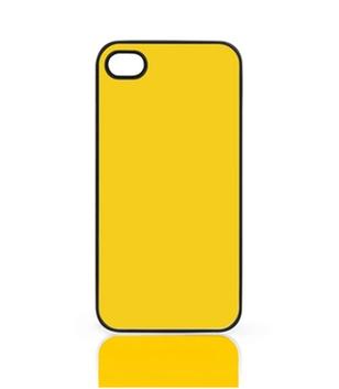 Case für iPhone 4, 4S, mit schwarzem Rand