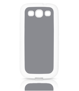 Samsung Galaxy S3 Cover Rubber weiß