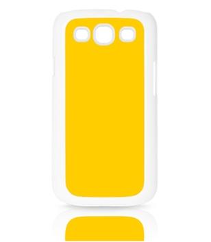 Samsung Galaxy S3 Cover Plastic weiß