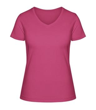 Stella Shows T-Shirt mit V-Ausschnitt