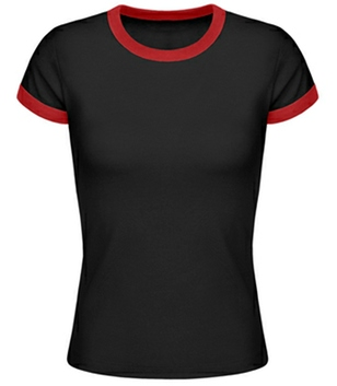 Ringer T-Shirt Frauen