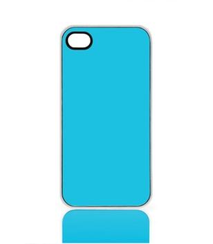 Case für iPhone 4, 4S, mit transparentem Rand