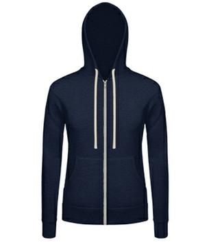 Damen Sweatshirt mit Zipper