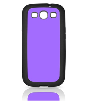 Samsung Galaxy S3 Cover Rubber schwarz