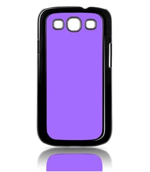 Samsung Galaxy S3 Cover Plastik schwarz